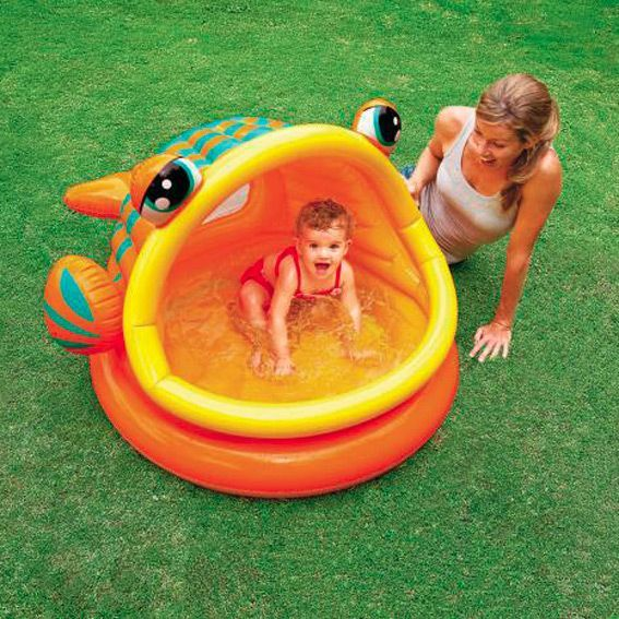 piscine gonflable pare soleil intex caraibes piscine et accessoires eminza. Black Bedroom Furniture Sets. Home Design Ideas