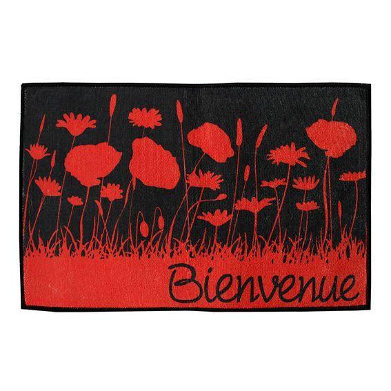 Tapis de cuisine 80 cm coquelicot tapis multi usage for Tapis de cuisine 100 x 50