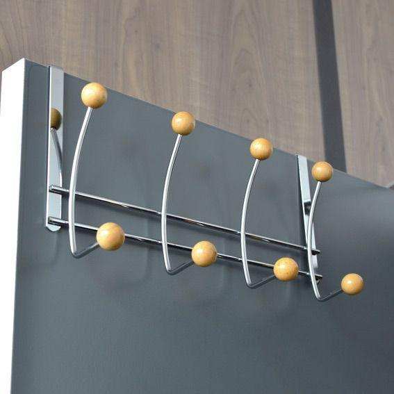 pat re suspendre 8 boules bois pat res et crochets. Black Bedroom Furniture Sets. Home Design Ideas