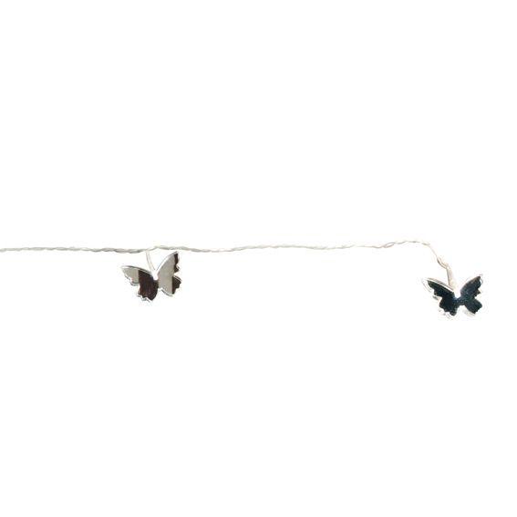 Guirlande lumineuse papillon miroir blanc froid d coration lumineuse em - Guirlande lumineuse papillon ...