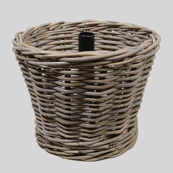 Pied de sapin rond gris accessoires pour sapin eminza for Eminza natale