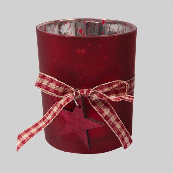 photophore aravis pika rouge illumination pour la table eminza. Black Bedroom Furniture Sets. Home Design Ideas