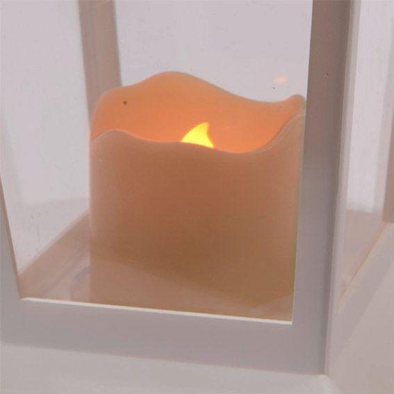 Petite lanterne antique blanc guirlande lumineuse eminza - Petite guirlande lumineuse led ...