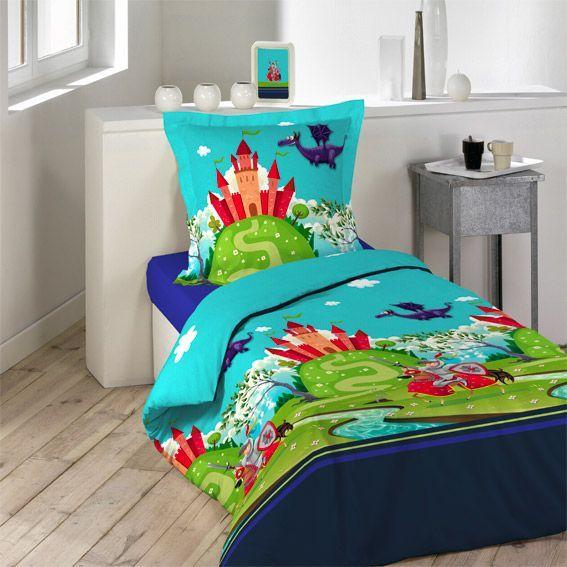 housse de couette chevalier. Black Bedroom Furniture Sets. Home Design Ideas