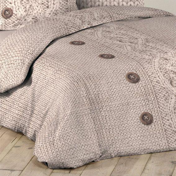 parure de draps 4 pi ces flanelle laina parure de draps eminza. Black Bedroom Furniture Sets. Home Design Ideas