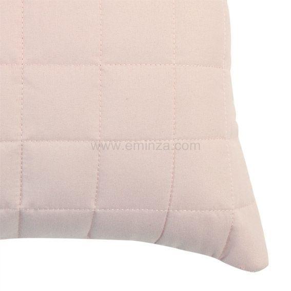 housse de coussin boutis 40 cm venus rose p le coussin et housse de coussin eminza. Black Bedroom Furniture Sets. Home Design Ideas