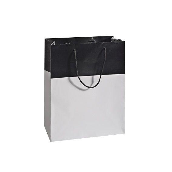 sac cadeau h32 cm l zard noir emballages cadeaux eminza. Black Bedroom Furniture Sets. Home Design Ideas