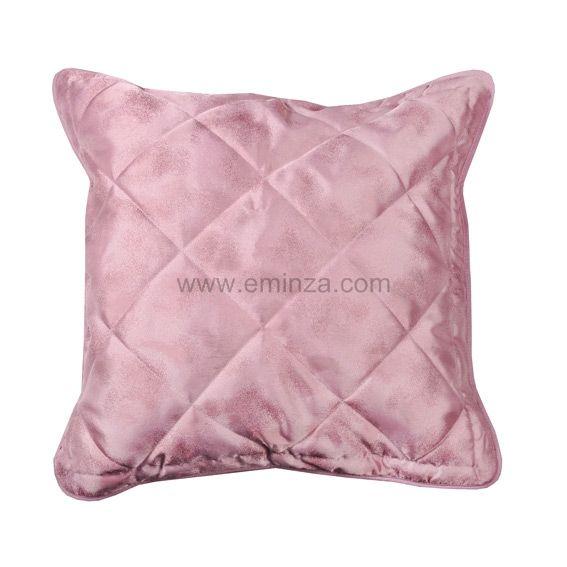 housse de coussin boutis blush rose coussin et housse de coussin eminza. Black Bedroom Furniture Sets. Home Design Ideas