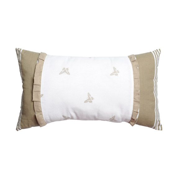 Coussin rectangulaire pamira coton recycl coussin et for Housse coussin 50 x 60