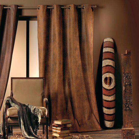 rideau de couleur bronze photo. Black Bedroom Furniture Sets. Home Design Ideas