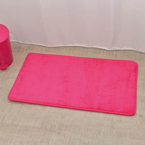tapis de bain microfibre simply rose tapis salle de bain. Black Bedroom Furniture Sets. Home Design Ideas