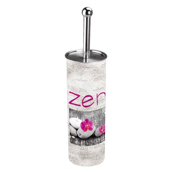 brosse de toilettes wc zen spirit rose brosse wc eminza. Black Bedroom Furniture Sets. Home Design Ideas