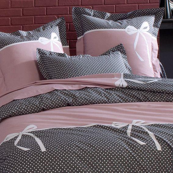 housse de couette et deux taies 260 cm calista housse. Black Bedroom Furniture Sets. Home Design Ideas