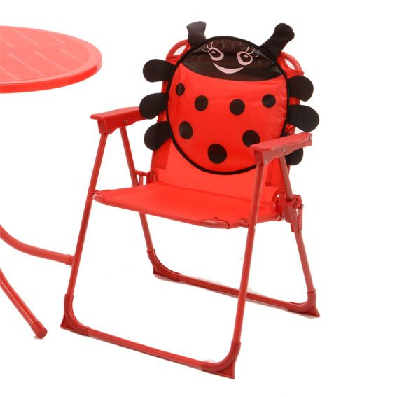 salon de jardin pour enfant coccinelle rouge mobilier pour enfant eminza. Black Bedroom Furniture Sets. Home Design Ideas