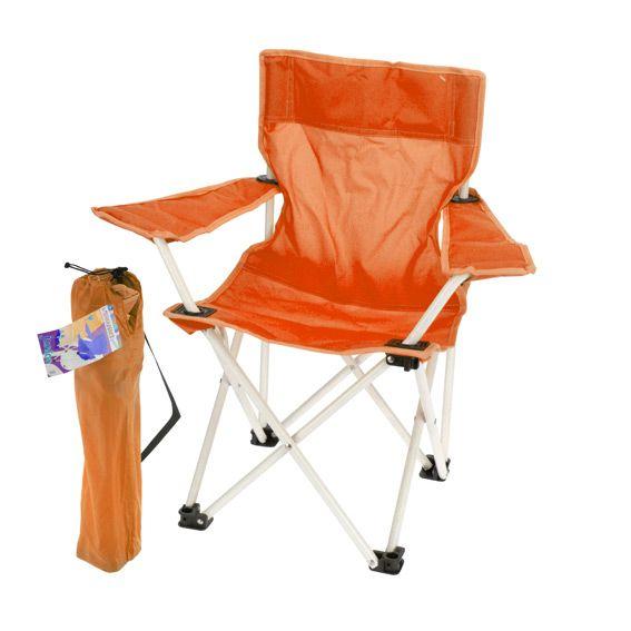 Fauteuil de camping pour enfant orange mobilier pour for Mobilier de jardin pour enfant
