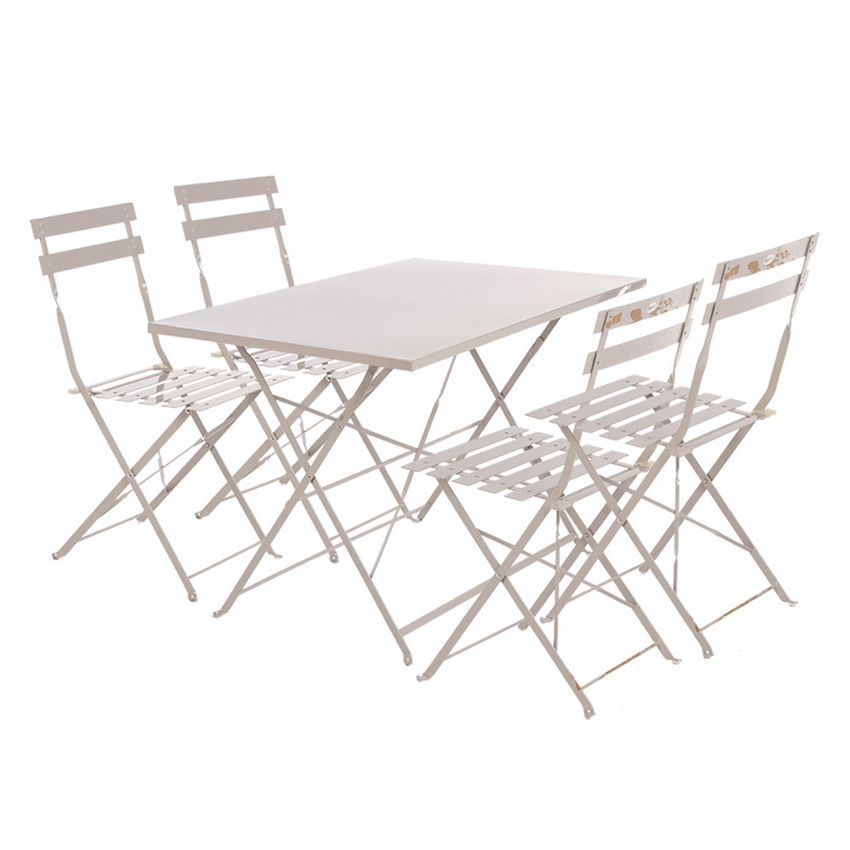 Stunning table de jardin pliante taupe ideas amazing for Table cuisine 110 x 70