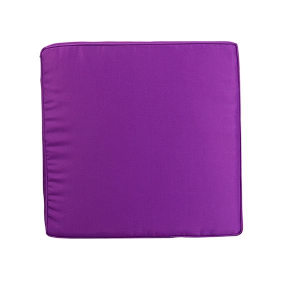 Coussin de fauteuil ibiza violet coussin de salon eminza for Housse coussin fauteuil