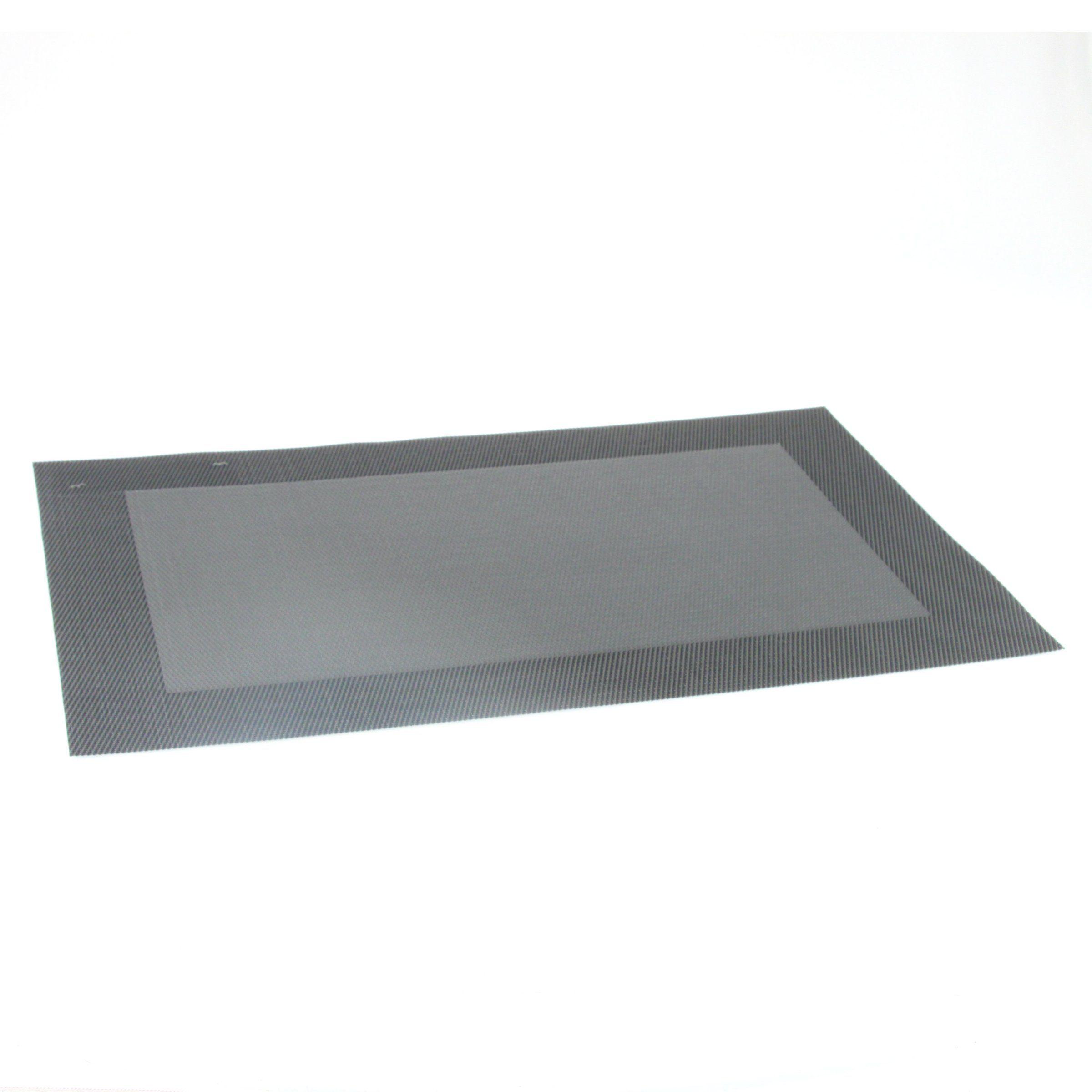 Set de table uni noir set de table eminza - Set de table noir ...