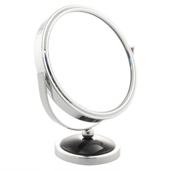 Miroir grossissant chrome miroir eminza for Miroir grossissant