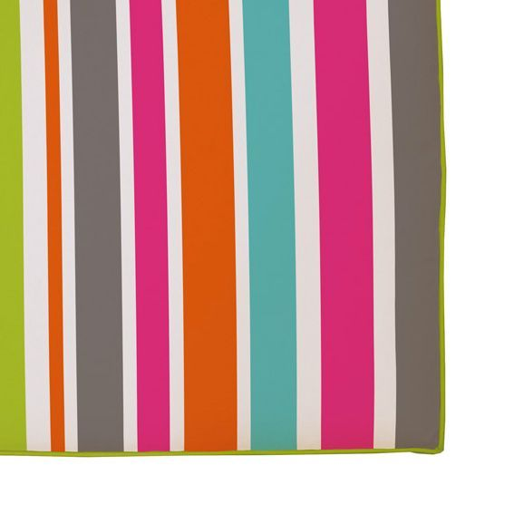Coussin de chaise rectangulaire sierra multicolore - Galette chaise exterieur impermeable ...