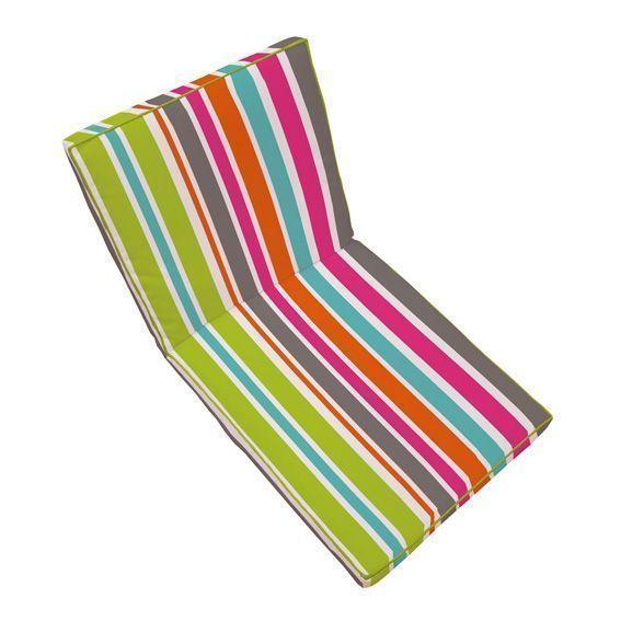 Coussin de fauteuil sierra multicolore coussin et housse for Housse coussin fauteuil