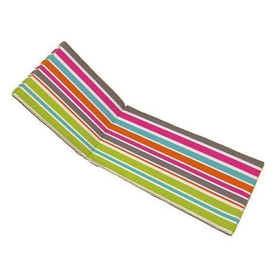 Coussin bain de soleil sierra multicolore coussin de for Housse bain de soleil
