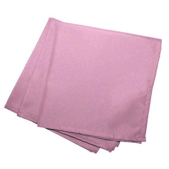 lot de 3 serviettes gamme essentiel rose drag e. Black Bedroom Furniture Sets. Home Design Ideas