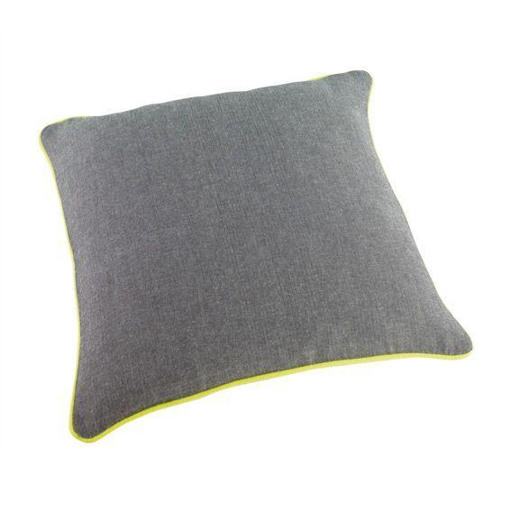 housse de coussin gamme jazzy vert anis coussin et housse de coussin eminza. Black Bedroom Furniture Sets. Home Design Ideas