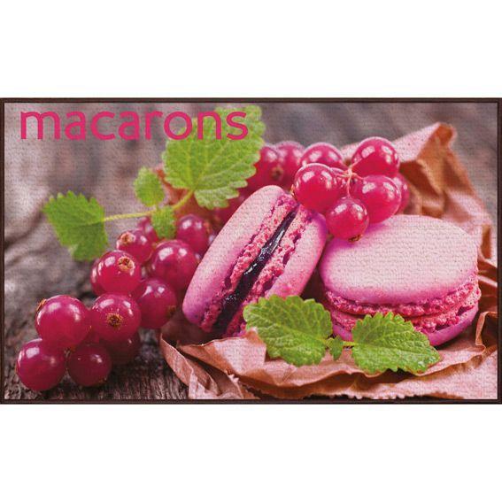 Tapis de cuisine 80 cm pink macaron tapis multi usage for Tapis de cuisine 80 x 120