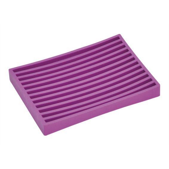 Porte savon sport one violet porte savon eminza - Porte savon salle de bain ...