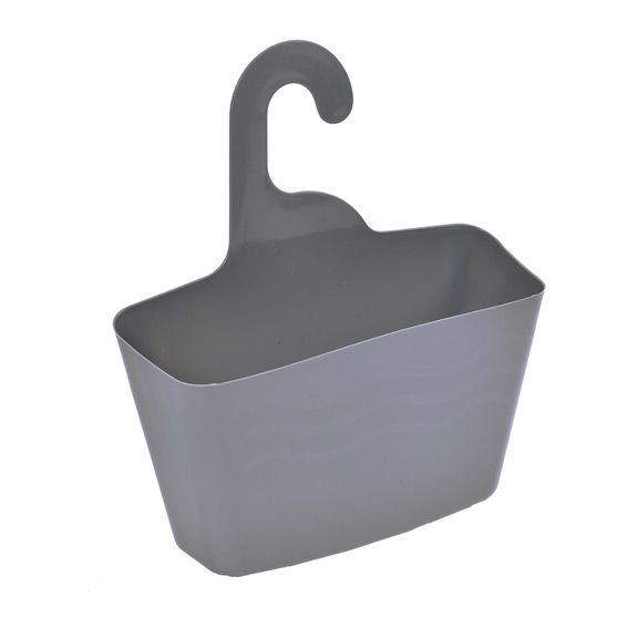 panier de douche avec cintre gris panier d co eminza. Black Bedroom Furniture Sets. Home Design Ideas