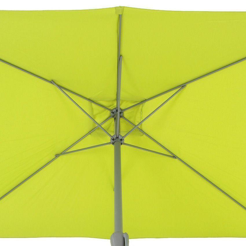 parasol inclinable rectangulaire fidji l3 x l2 m pistache parasol voile et paravent eminza. Black Bedroom Furniture Sets. Home Design Ideas