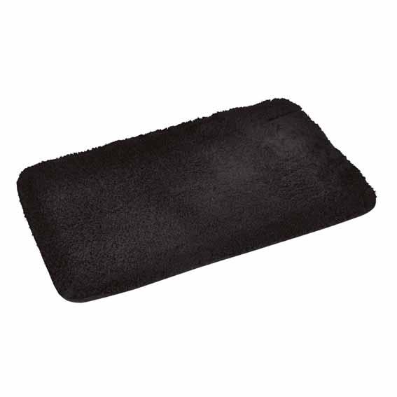 tapis de bain chinchilla noir tapis salle de bain eminza. Black Bedroom Furniture Sets. Home Design Ideas