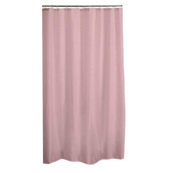 rideau de douche vita rose p le premium rideau de douche eminza. Black Bedroom Furniture Sets. Home Design Ideas