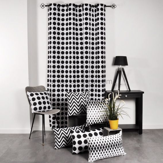 housse de clic clac rings noir et blanc housse de clic clac bz eminza. Black Bedroom Furniture Sets. Home Design Ideas