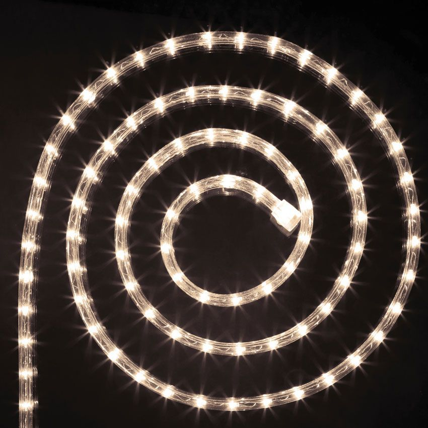 tube lumineux 10 m blanc chaud 180 led guirlande. Black Bedroom Furniture Sets. Home Design Ideas