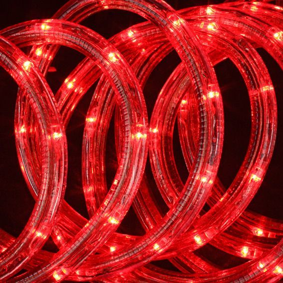 tube lumineux 24 m rouge 432 led guirlande lumineuse eminza. Black Bedroom Furniture Sets. Home Design Ideas