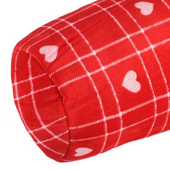 coussin polochon coucoune rouge coussin et housse de coussin eminza. Black Bedroom Furniture Sets. Home Design Ideas