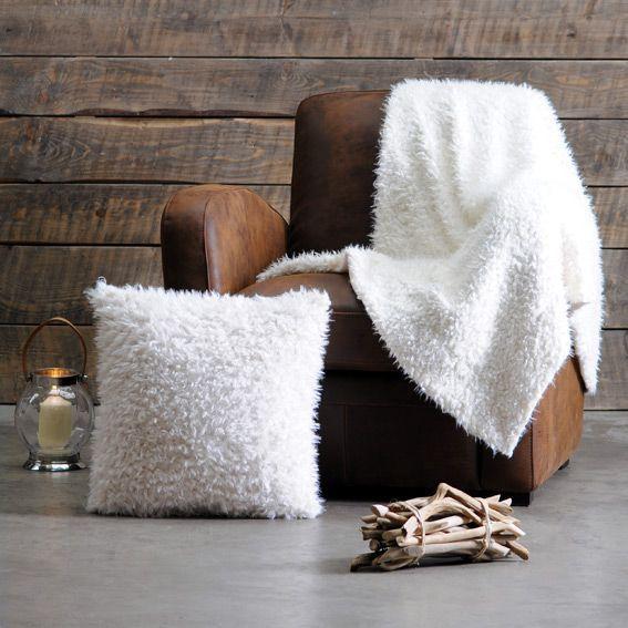 plaid fausse fourrure mouton blanc plaid fausse fourrure. Black Bedroom Furniture Sets. Home Design Ideas