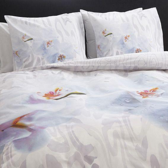 housse de couette et deux taies 240 cm douce orchid e housse de couette eminza. Black Bedroom Furniture Sets. Home Design Ideas