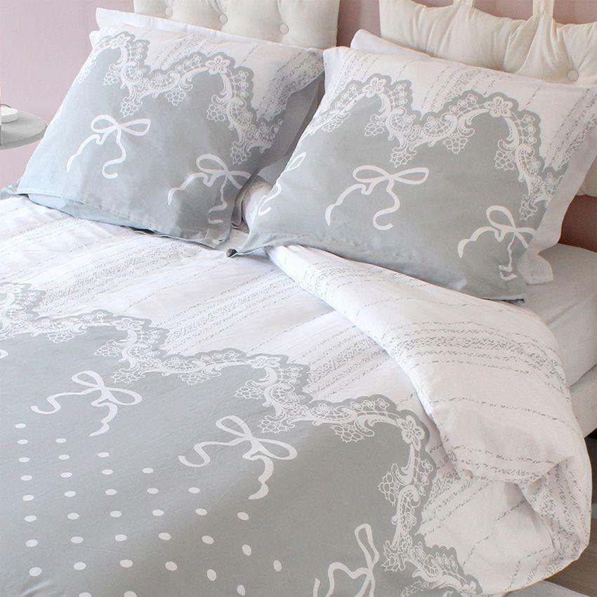 housse de couette et deux taies 240 cm romantique housse de couette eminza. Black Bedroom Furniture Sets. Home Design Ideas