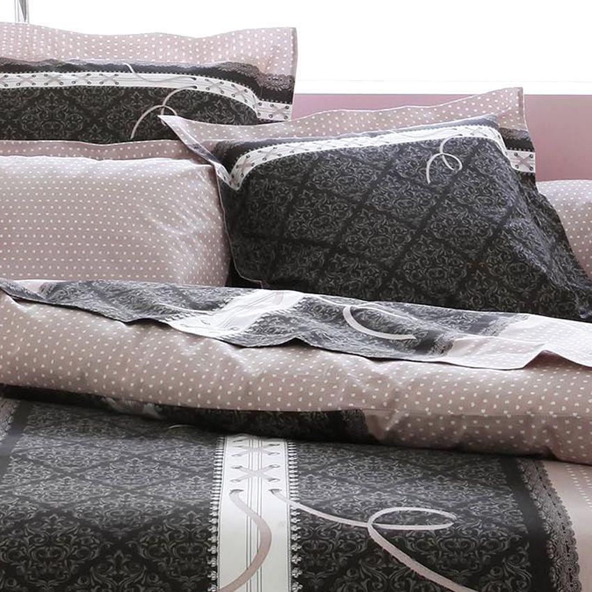 housse de couette et deux taies 240 cm glamour housse de couette eminza. Black Bedroom Furniture Sets. Home Design Ideas
