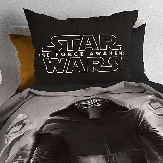 housse de couette et une taie 140 cm star wars master. Black Bedroom Furniture Sets. Home Design Ideas