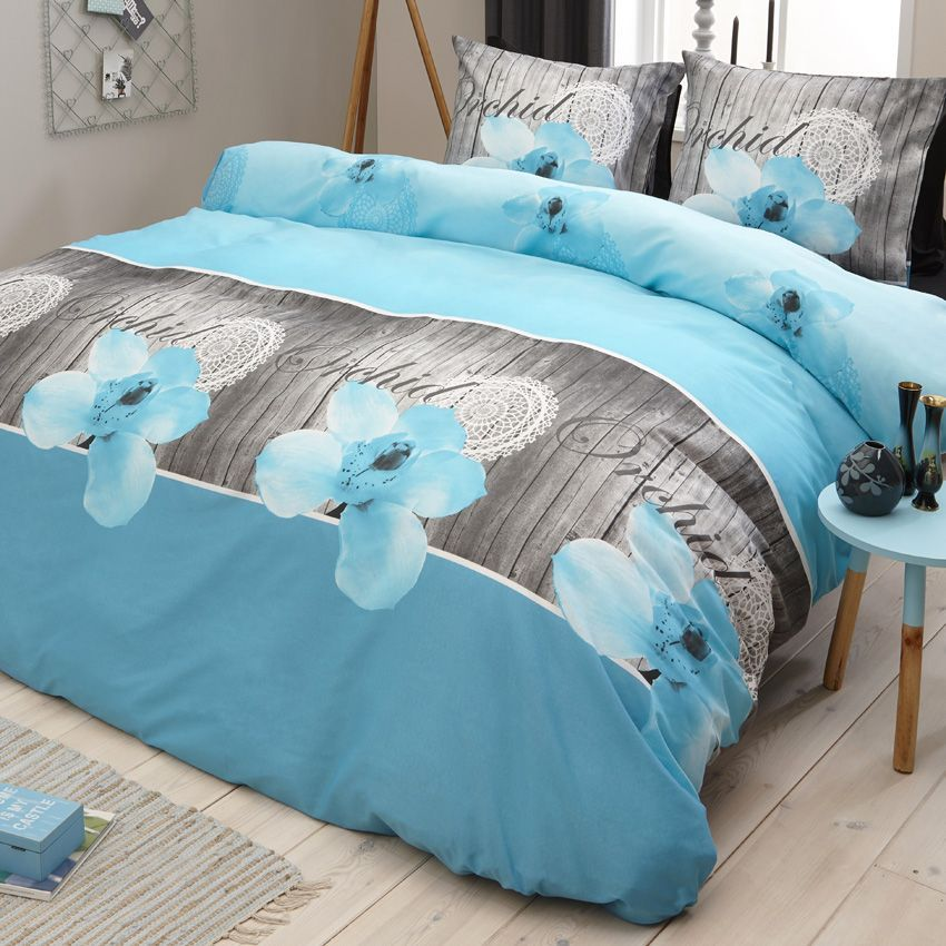 housse de couette taupe et turquoise conceptions de maison. Black Bedroom Furniture Sets. Home Design Ideas