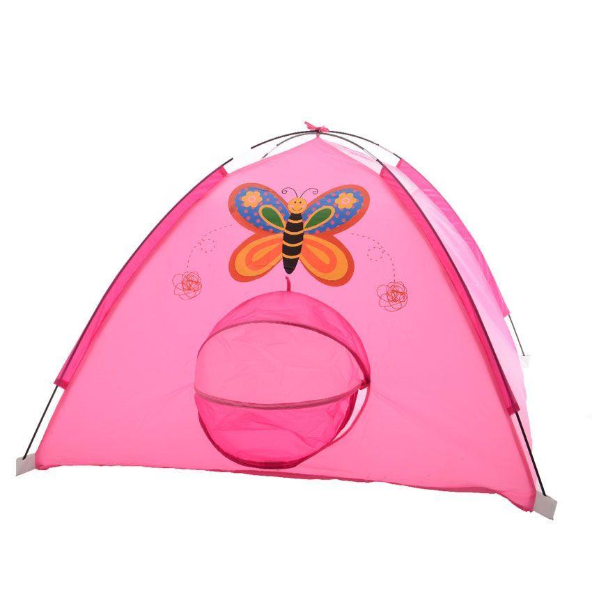 tente pour enfant papillon rose mobilier pour enfant. Black Bedroom Furniture Sets. Home Design Ideas