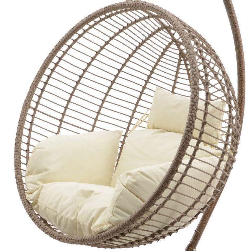 loveuse jazzy sable naturel balancelle eminza. Black Bedroom Furniture Sets. Home Design Ideas