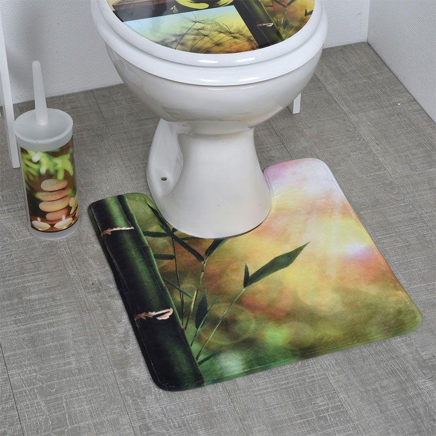 tapis contour wc nature zen tapis contour wc eminza. Black Bedroom Furniture Sets. Home Design Ideas