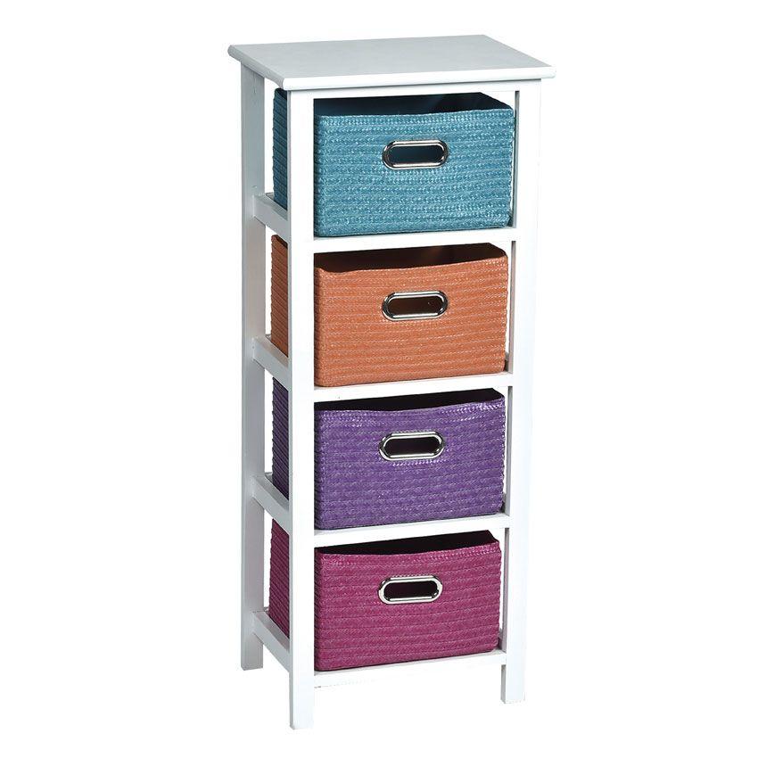 meuble 224 panier multicolore meuble d233co eminza