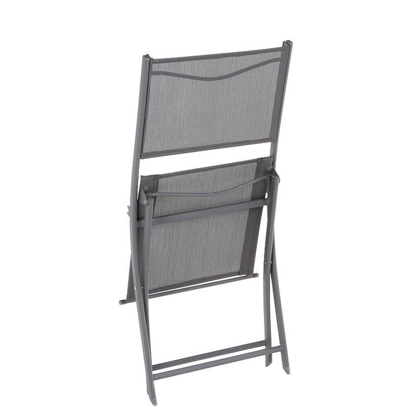 chaise de jardin modula ardoise chaise et fauteuil de jardin eminza. Black Bedroom Furniture Sets. Home Design Ideas