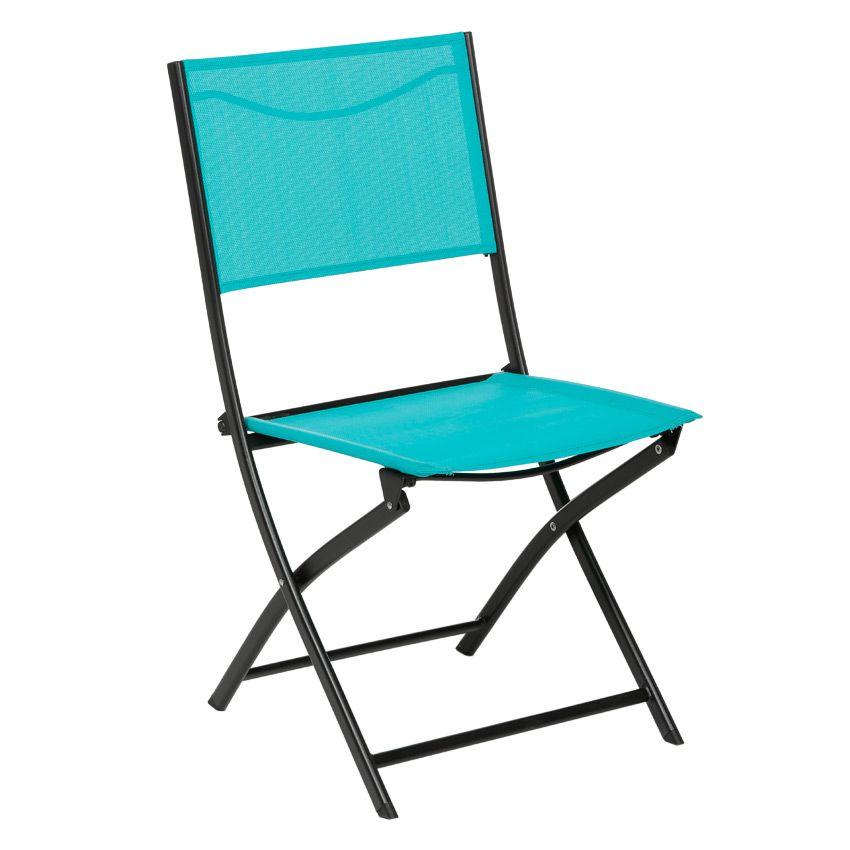 chaise de jardin modula lagon noir chaise et fauteuil de jardin eminza. Black Bedroom Furniture Sets. Home Design Ideas
